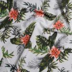 tissu-viscose-blanc-imprime-fleurs-tropical-x-10-cm