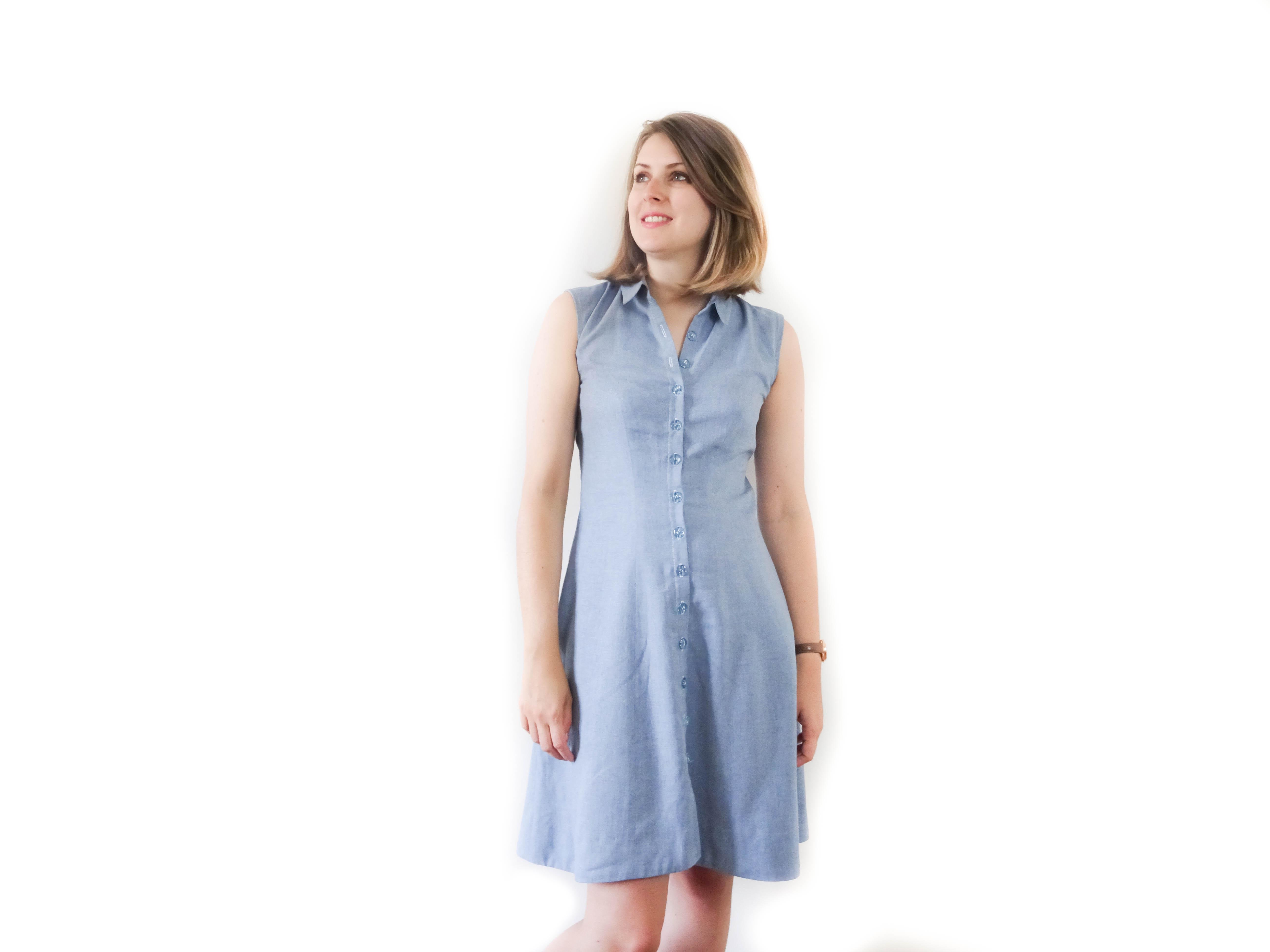 d8235f35153 Fin d été avec ma robe Bleuet - COUSETTE CHERIE