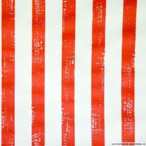 tissu-satin-de-coton-imprime-bandes-rouges